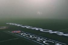 UEFA Avrupa Ligi maçı sis nedeniyle ertelendi