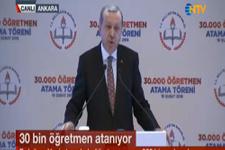 Erdoğan'dan atanamayan öğretmenleri heyecanlandıran açıklama
