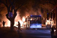 Ankara'daki patlama sonrası ilk görüntüler