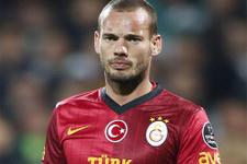 Sneijder tam 478 gün sonra yedek