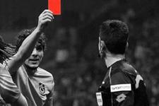 Trabzonspor taraftarı kırmızı kartlı eylem yaptı