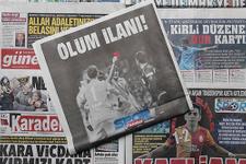 Trabzon yerel gazetelerinin Deniz Ateş Bitnel tepkisi