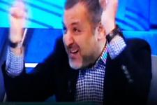 Mehmet Demirkol hakemi taklit etti güldürdü