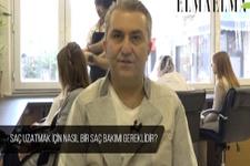Kuaför Zeynel Yancı'dan saç bakımı tavsiyeleri