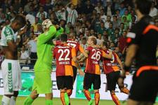 Galatasaray'ın o serisi bitti