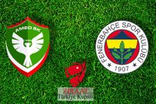 Amedspor-Fenerbahçe maçının hakemi belli oldu