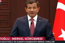 Alman muhabirden Davutoğlu'nu kızdıran soru