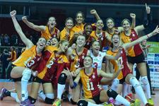 Galatasaray final için sahada