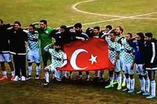 Amedspor Türk bayrağını ırkçı buldu TFF'ye şikayet etti