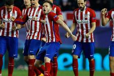 Atletico Madrid öldü öldü çeyrek finali kaptı