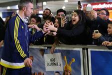 Fenerbahçe kafilesi yurda döndü