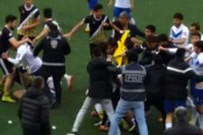 Sivas'taki maçta tekmeler yumruklar konuştu