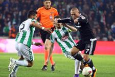 Konyaspor Beşiktaş maçının sonucu ve özeti