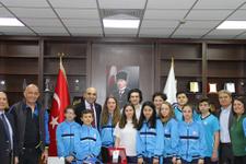 Başkan Kerimoğlu Su Sporları Kulübü'yle gurur duyuyor