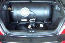 Otomobilin LPG tankından bakın ne çıktı!