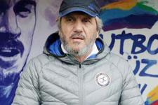 Mustafa Reşit Akçay'ın üç puan sevinci