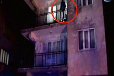 Damat intihar için balkona çıktı kaynanası böyle bağırdı