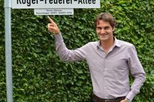 Roger Federer'in ismi caddeye verildi