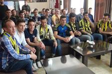 Fenerbahçeli taraftarlarından polise ziyaret
