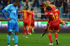 Kayserispor Bursaspor maçının sonucu ve golleri