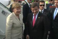 Merkel ve Davutoğlu Gaziantep'te