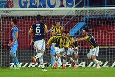 Trabzon Fenerbahçe maçında olay pozisyon!