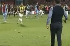 Olaylı maçta sahadan kaçmayan Pereira takdir topladı
