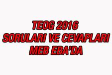 TEOG soruları ne zaman açıklanacak EBA 2016