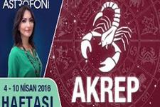 Akrep burcu haftalık astroloji yorumu 04 - 10 Nisan 2016