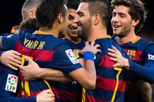 Arda Turan'lı Barcelona Atletico Madrid'e karşı