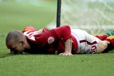 Sneijder derbi için eve kapandı