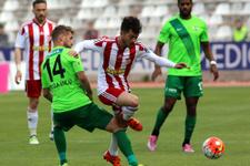Sivasspor Akihsar Belediyespor maçının sonucu ve özeti