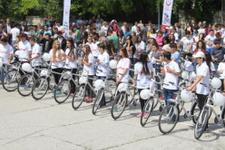 Edirne'de 407 öğrenciye bisiklet dağıtıldı