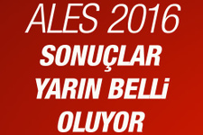 ALES 2016 sınav sonuçları açıklanma tarihi
