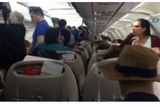 Mabel Matiz'e uçakta teknik arıza şoku!