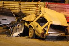 Mersin Mut ilçesinde feci kaza