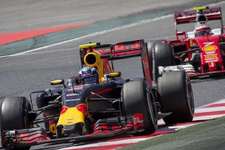 Ricciardo Monaco'da ilk cepte