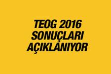 TEOG sonuçları 2016 ne zaman açıklanacak MEB tarih verdi