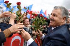 Ulaştırma Bakanı Ahmet Arslan'a Kars'ta büyük karşılama!