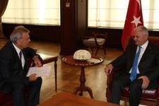 Başbakan Yıldırım'dan Kocaoğlu'na ziyaret