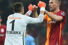 Lukas Podolski'nin derbi hesabı
