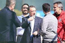 Beşiktaş yönetiminden derbi jesti