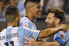 Lionel Messi Copa America'yı salladı