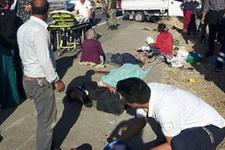 Şanlıurfa'da işçileri taşıyan kamyonet kaza yaptı! Ölü ve yaralılar var