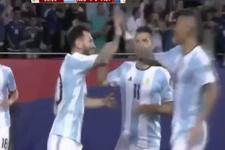 Lionel Messi 30 dakikaya 1'i frikik 3 gol sığdırdı