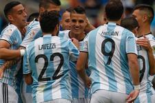 Copa America'da Arjantin fırtınası