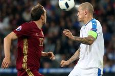 Rusya Slovakya maçı fotoğrafları