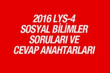 LYS Sosyal Bilimler soruları ve cevapları 2016 ÖSYM ais
