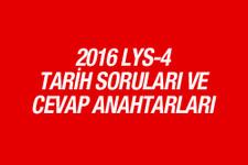 LYS Tarih soruları ve cevapları 2016 ÖSYM ais