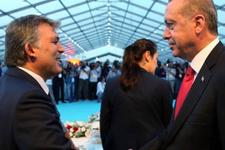 Erdoğan ve Gül'ü buluşturan davet yan yana oturdular!